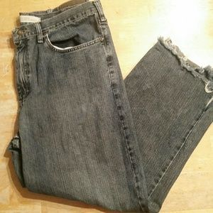 Lee Relaxed Straight Leg Dark Wash Jeans